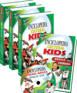 Enciclopedia kids 4 tomos
