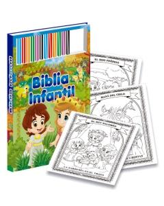 Biblia infantil para colorear