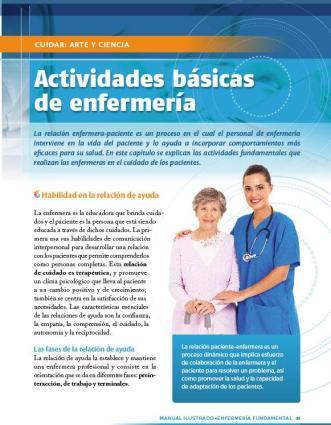 Manual Ilustrado de ENFERMERÍA FUNDAMENTAL CLASA 2